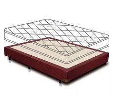 Sommier sin colchón Gani Red Spring 140 x 190 cm
