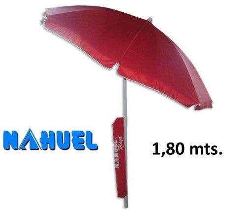 Sombrilla nahuel reforzada playa 180 con funda reclinable d nq np 496715 mla25311804021 012017 o