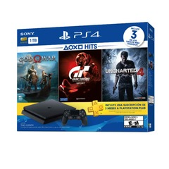 PLAY STATION 4+GOW GTS UC4 1TB