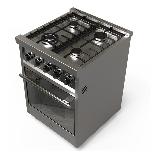 Morelli 18022 zafira cocina industrial 60cm inox 4 h pta d nq np 654955 mla28177733052 092018 f