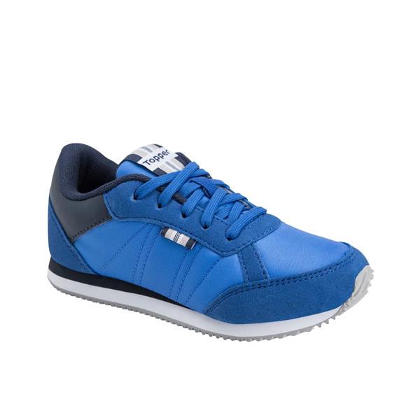 Zapatillas Topper Theo Kids Azul/Marino