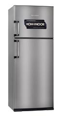 Heladera con freezer Kohinoor KDA-4394/7 413 Lts. Acero