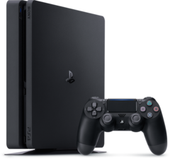 Consola de juegos Sony Play Station 4 Slim Black 500 GB + Horizon Zero + Ratchet and Clank + The Last of us