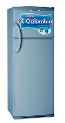 Heladera con freezer COLUMBIA HTP-2334G Sistema Cíclico (Frío Húmedo) 317Lts. Plata