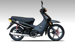 Motocicleta cub Guerrero Trip 110 Full