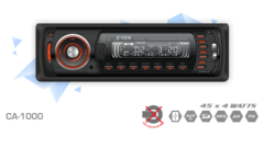 Autoestéreo X-View CA1000 45 x 4 W RMS con USB