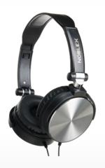 Auriculares Noblex HP97 negro y plata